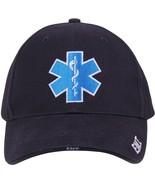 Navy Blue EMT Medical Deluxe Star of Life Adjustable Hat - $10.99