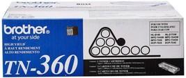 Brother TN360 High Yield Toner Cartridge - Black  - $75.84