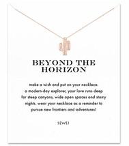 SEWEI Friendship Clover Necklace Unicorn Good Luck Elephant Cross Starfi... - $10.49