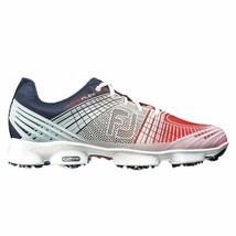 NEW! Size 10 M FootJoy Hyperflex II Golf Shoes-Red/White/Blue 10 Medium 51033 - $187.98