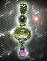 HAUNTED NECKLACE SORCERER'S RETURNING LIGHT CODES BRING BACK SECRET OOAK MAGICK - $8,987.77