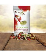 On The Go Roasted & Salted Edamame Bean Trail Mix blended with Goji Berr... - $35.34
