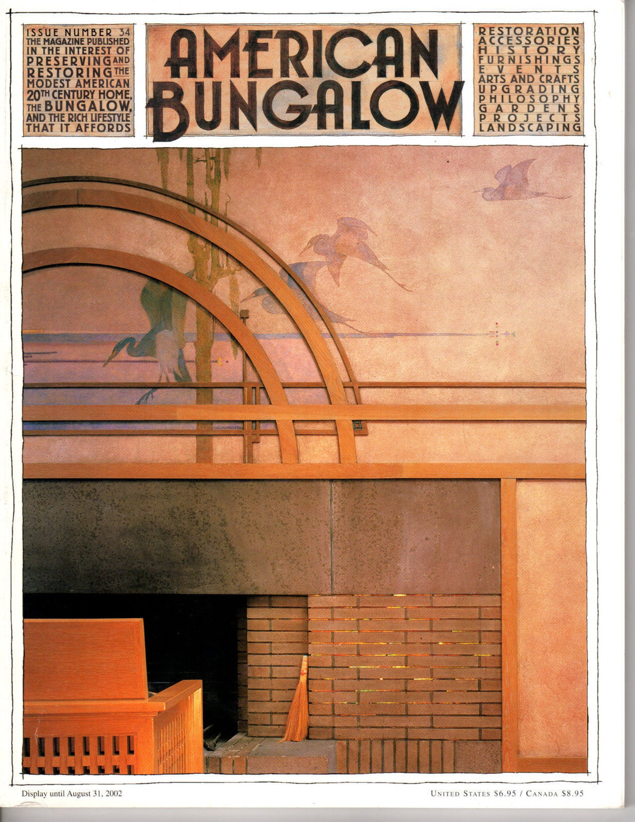 Primary image for AMERICAN BUNGALOW Magazine No. 34 <> Summer 2002 <> Arts & Crafts Ar