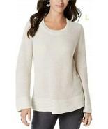 $49.50 Style & Co Flare-Sleeve Contrast-Border Sweater, XXL, Hammock Hea... - $16.09
