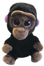 "Retired Ty Beanie Baby Boos Romeo The Gorilla Boo 6"" Purple Black Eyes N... - $14.69"
