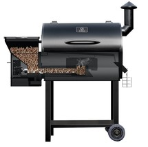 Z Grills Pro 7002 Barbecues Outdoors Cooking Smoker Bake Roast Braise Se... - $675.95