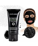 Black Mask Bamboo Charcoal Blackhead Removal Face Mask Deep Cleansing Ac... - $11.79