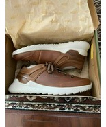 BNIB Keen Highland Sneakers, Men, Leather, Size 8, Sunset wheat/Silver B... - $84.15