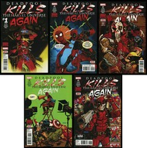 Deadpool Kills the Marvel Universe Again Comic Set 1-2-3-4-5 Cover A Collection - $49.00