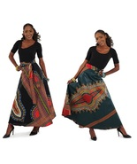 Dashiki wrap skirt pair thumbtall