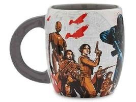 NEW Disney Parks Rogue One A Star Wars Story Mug 16 oz Coffee Tea Jyn K-2SO Baze - $14.99