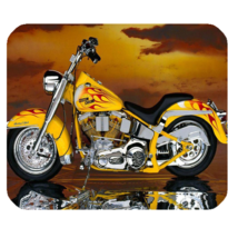 Mouse Pad Motorcycles Luxury Yellow Design For Game Animation - €8,00 EUR
