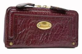 AUTHENTIC CHLOE Patent Leather Zip Around Long ... - $180.00
