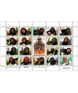 Traditionell X Exorcism Ritual - Srl Lanka Post Briefmarke Blatt - $9.49