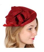 Formal Wool fascinator Dressy Hat Wedding church hat Racing Hat - $39.00