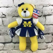 "15"" Michigan Wolverines Cheerleader Teddy Bear Plush Sports Fan Stuffed Animal - $11.88"