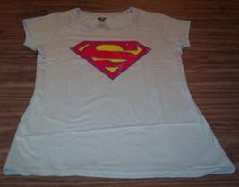 Women's Teen Dc Comics Superman T-shirt Supergirl Xl New - $19.80