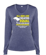 All Men Are Created Equal Then Some Become Paratroopers T Shirt, My Favorite T S - $29.99+
