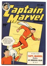 Captain Marvel Adventures #49-golden-age Comic book-FAWCETT - $357.69