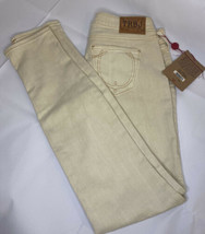 TRUE RELIGION $191 Womens Shannon Lonestar Skinny Straight Jeans Baby Li... - $69.99