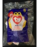 TY Teenie Beanie #9 - 1998 McDonald's - Bones the Puppy Dog Retired - $2.22