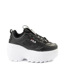 NIB*Fila Disruptor  Super Wedge Sneaker*Size 6-10*Black - $140.00