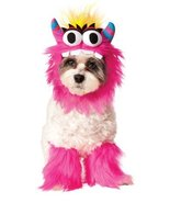Fluffy, friendly pet monster costume includes furry collar and 2 matchin... - €13,62 EUR
