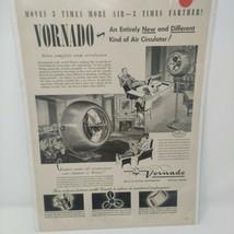 Vintage 1948 Vornado Fan Print Ad Ephemera Wall Art Decor - $26.13