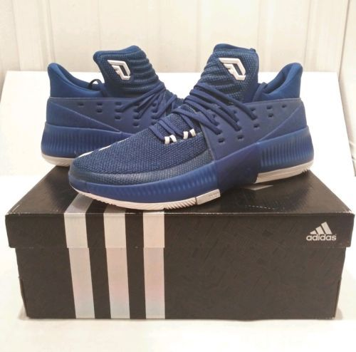 new arrival c9d1d 4fbd5 adidas Mens Dame 3 Basketball Shoe  Blue  and 50 similar items. 12