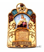 Queen Virgin Mary Jesus Mother Catholic Home Blessing Religious Wall Han... - $16.61