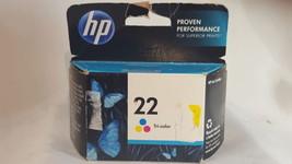 NIP HP 22 C9352AN Tri-color Original Ink Cartridge - $25.73