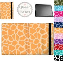 Bright Giraffe Print Tablet Flip Case - $29.99+