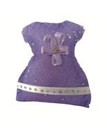 Jewels Joy Violetta di Parma Scented Purple Dress Sachet Magnet - $10.76