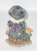 Boyd Bearstone Resin Bears 1997 Grace and Jonathan Born To Shop Figurine 25E image 2
