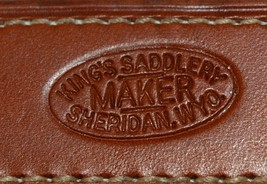 Kings Saddlery Maker 1371 Slobber Straps One Pair 8 Inches image 2