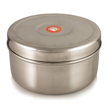 Spice Box Authentic Indian Masala Dabba airtight lids (steel lid) 7 Cani... - $38.03