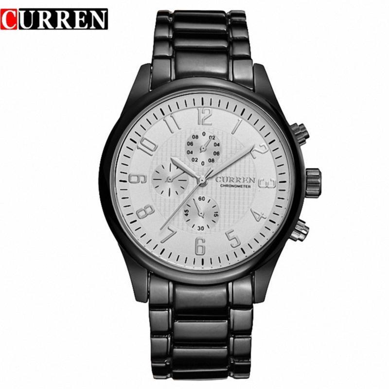 Curren 8046 Full Steel Sports Wrist Watch Waterproof Male Clock Classic Fashion  - $44.98