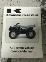 1997 Kawasaki Prairie 400 4x4 Atv Service Atelier Réparation Manuel OEM - $98.99