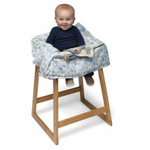 Boppy Shopping Cart and Restaurant High Chair Cover, Sunshine/Gray - $21.78