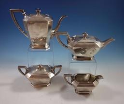 Fairfax by Durgin-Gorham Sterling Silver Tea Set 4pc #04 (#1641) Fabulous! - $2,655.25