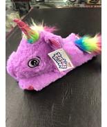 Zookiez Slappy Rainbow the Unicorn Plush Slap Bracelet NEW With Tags - $13.85