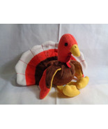 1996 Ty Beanie Baby Gobbles Turkey Tush Tag Only Stamped - $2.23