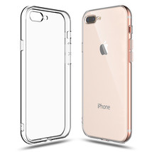 Clear Case iPhone 8 Plus / 7 Plus Transparent Shock Absorption Cover Sil... - $6.62