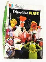 VINTAGE in BOX 1982 Milton Bradley Muppets School is a Blast 250 Piece Puzzle - $29.69