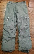 Womens 686 Archetype Smarty Tech Gray Cargo Snow Ski Pants Size: Small (... - $39.59