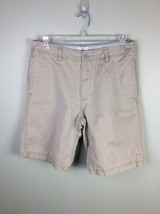 Gap Khakis Relaxed Fit Shorts Casual Flat Front Men's Size 32 - $12.19