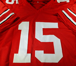 EZEKIEL ELLIOTT / AUTOGRAPHED OHIO STATE UNIVERSITY CUSTOM JERSEY / WITH COA image 2