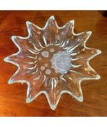 Studio Nova Heavens Gate Sun Moon Stars Clear Frosted Crystal Candy Dish... - £8.63 GBP