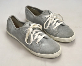 Gray Shimmer Canvas KEDS Low Ankle Sporty Casual Sneaker Oxford Shoes Si... - $14.84