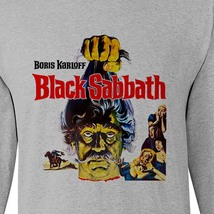 Black Sabbath Tee Boris Karloff retro vintage horror long sleeve distressed image 2